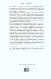 Bijoux A Secrets - 4ème de couverture - Format classique