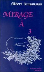 Mirage à 3 - Couverture - Format classique