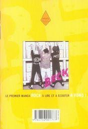 Beck t.12 - 4ème de couverture - Format classique