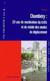 Chambery : 20 Ans De Moderation Du Trafic Et De Mixite Des Modes De Deplacement (Video K7, Vhs Secam - Couverture - Format classique