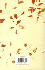 Les Murs Et Autres Histoires (d'Amour) - 4ème de couverture - Format classique