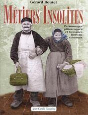 Metiers Insolites - Intérieur - Format classique