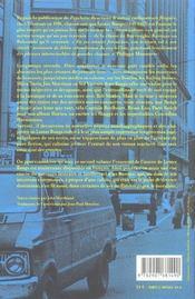 Fêtes sanglantes & mauvais goût - 4ème de couverture - Format classique
