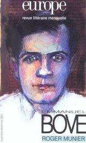 Emmanuel Bove - Intérieur - Format classique