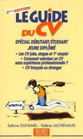 Le guide du CV (2e édition) - Intérieur - Format classique
