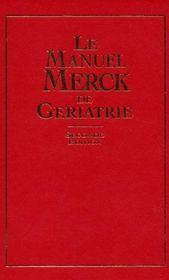 Le manuel Merck de gériatrie (2e édition) - Intérieur - Format classique