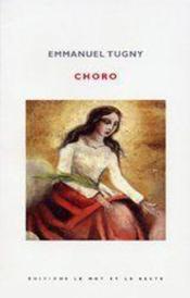 Choro - Couverture - Format classique