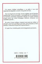 Guide Pratique De Developpement Personnel - 4ème de couverture - Format classique