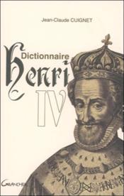 Dictionnaire Henri IV - Couverture - Format classique