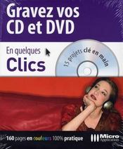 Gravez vos cd/dvd - Intérieur - Format classique
