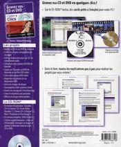 Gravez vos cd/dvd - 4ème de couverture - Format classique