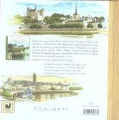 Le val de Loire ; de Saumur à Saint-Nazaire - 4ème de couverture - Format classique