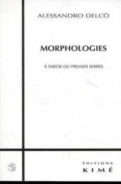 Morphologies - Couverture - Format classique