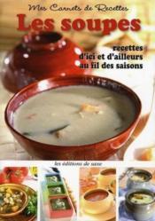 Les soupes - Couverture - Format classique