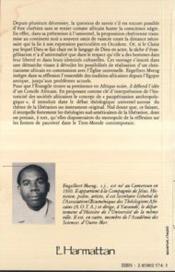 L'Afrique Dans L'Eglise - 4ème de couverture - Format classique