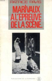 Marivaux A L Epreuve De La Scene - Couverture - Format classique