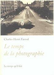 Temps De La Photographie (Le) - Intérieur - Format classique