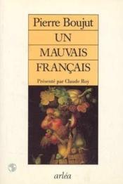 Un Mauvais Francais - Couverture - Format classique