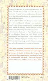 Les Aventuriers De La Reine A L Assaut Du Nouveau Monde - 4ème de couverture - Format classique