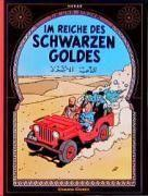 Tim und Struppi t.15 ; im reiche des schwarzen goldes - Couverture - Format classique