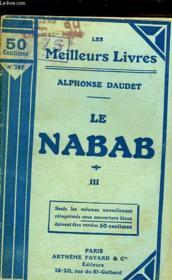 Le Nabab - Moeurs Parisienne - Tome 3 - Couverture - Format classique