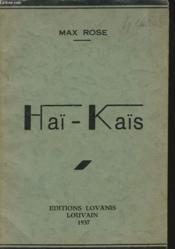 Haï-Kaïs - Couverture - Format classique