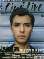 CINE LIVE - N° 35 - Spécial Cannes 2000 - Jude LAW aux portes de la gloire - Couverture - Format classique