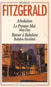 Vente  Absolution ; le premier mai ; may day ; retour à Babylone ; Babylon revisited  - Francis Scott Fitzgerald