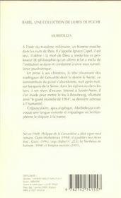 Morbidezza babel 569 - 4ème de couverture - Format classique