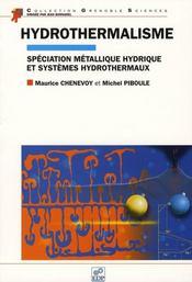 Hydrothermalisme - Intérieur - Format classique