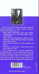 Le Pudlo France ; 8200 Adresses A Tous Les Prix - 4ème de couverture - Format classique
