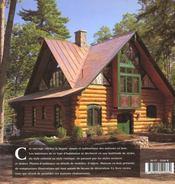 Chalets En Bois - 4ème de couverture - Format classique