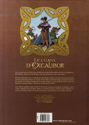 Le chant d'Excalibur t.5 ; Ys la magnifique - 4ème de couverture - Format classique