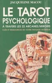Le tarot psychologique - Couverture - Format classique
