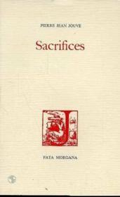 Sacrifices - Couverture - Format classique