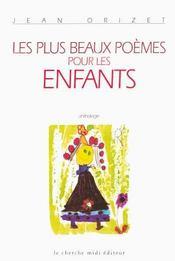 Les plus beaux poèmes pour les enfants - Intérieur - Format classique