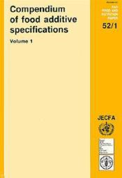 Compendium of food additive specifications ; joint fao-who expert committee on food additives ; combined specifications - Couverture - Format classique