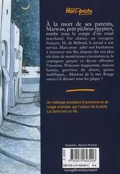 Marwann de la mer rouge - 4ème de couverture - Format classique