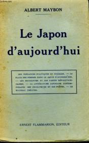 Le Japon D'Aujourd'Hui. - Couverture - Format classique