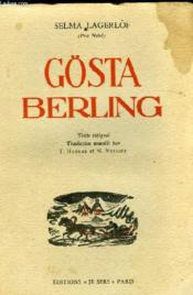 Gosta Berling - Couverture - Format classique