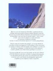 Ascensions Au Pays Du Mont-Blanc - 4ème de couverture - Format classique
