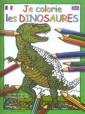 Je colorie les dinosaures - Intérieur - Format classique