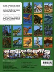 Je colorie les dinosaures - 4ème de couverture - Format classique