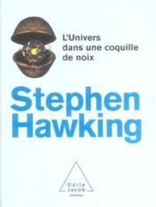 L'univers dans une coquille de noix - Couverture - Format classique