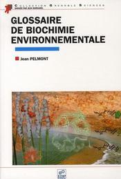 Glossaire de biochimie environnementale - Intérieur - Format classique