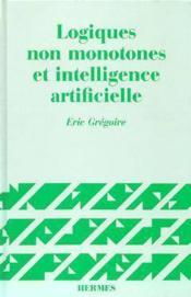 Logiques non monotones et i a - Couverture - Format classique