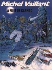 Michel Vaillant t.53 ; la nuit de Carnac - Couverture - Format classique