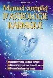 Manuel Complet D'Astrologie Karmique - Couverture - Format classique