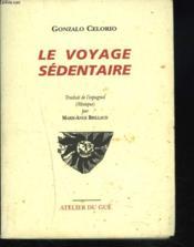 Le voyage sédentaire - Couverture - Format classique