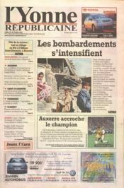 Yonne Republicaine (L') N°245 du 22/10/2001 - Couverture - Format classique